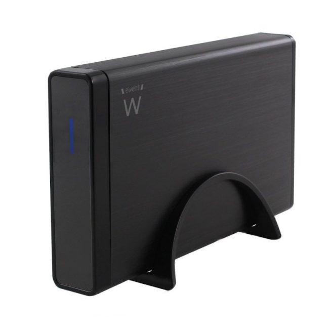 """Ewent EW7047 Caja HD 3.5"""" IDE/SATA USB2.0 Negra"""