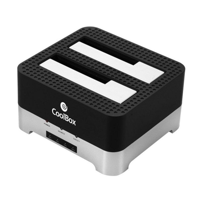 "Coolbox Duplicador V2HDD/SSD 3.5""-2.5"" USB3.0"