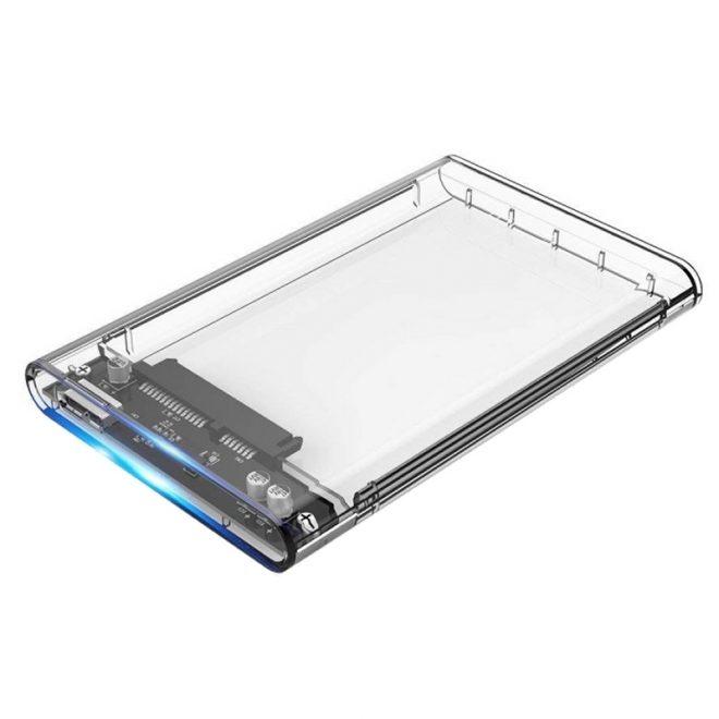 "CoolBox caja HDD 2.5""SCT-2533 USB3.0 transparente"