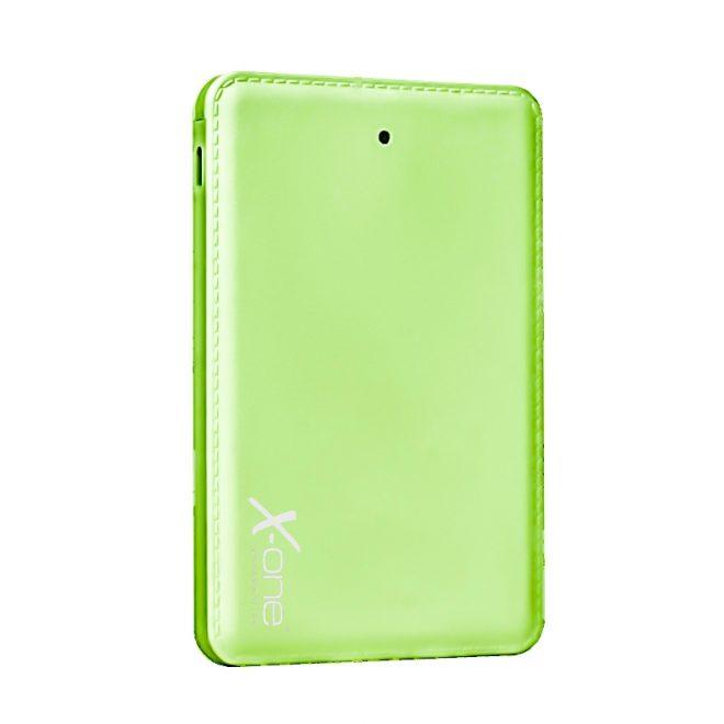X-One PB3000GR PowerBank 3000mAh 3en1 Verde