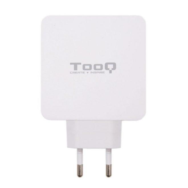 Tooq Cargador de pared doble USB-C PD+ USB A