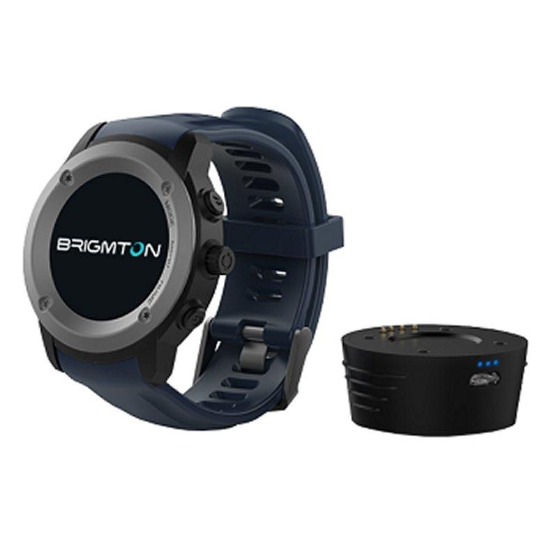 Brigmton BWATCH-100GPS SmartWatch GPS IP54 Azul