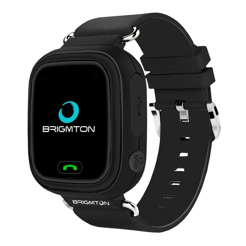 Brigmton BWATCH-KIDS SmartWatch GPS Negro