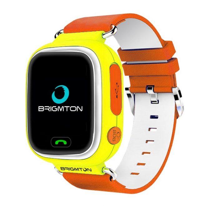 Brigmton BWATCH-KIDS SmartWatch GPS Naranja