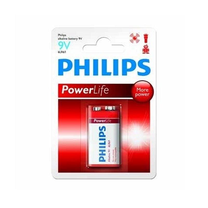 Philips Pila Alcalina 9V 6LR61