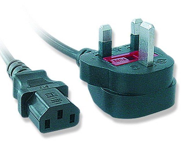 iggual Cable Alimentación Inglés C13(UK) 5A 1.8Mts