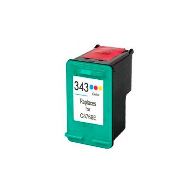 INKOEM Cartucho Reciclado HP N343 Color