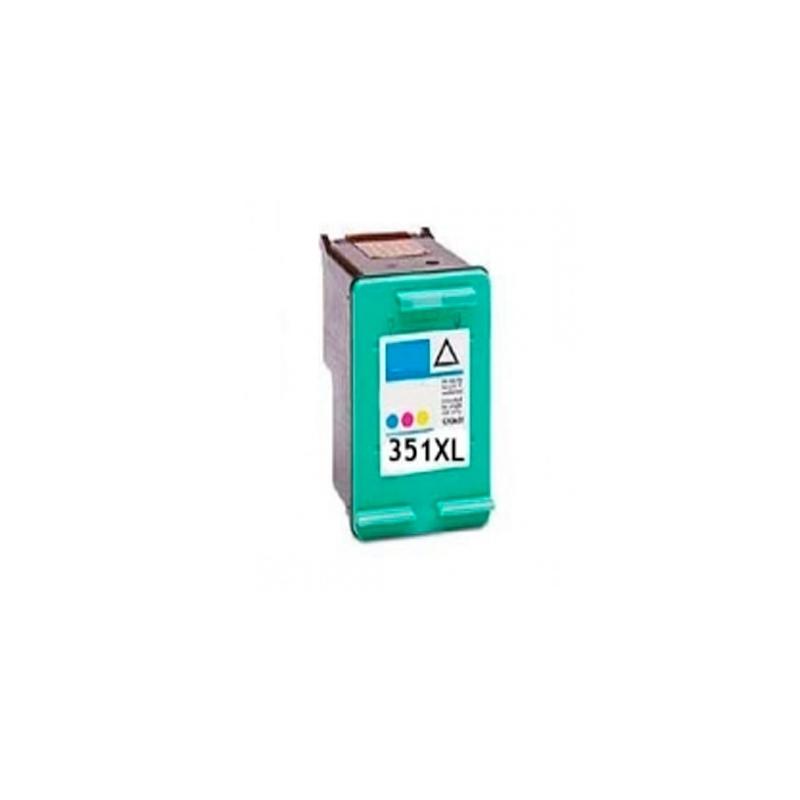INKOEM Cartucho Reciclado HP N351 XL Color