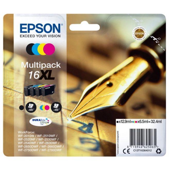 Epson Cartucho Multipack T16