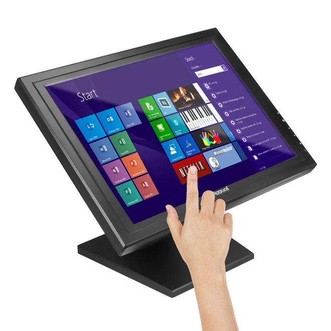 """iggual MTL15B monitor LCD Táctil 15"""" XGA USB"""