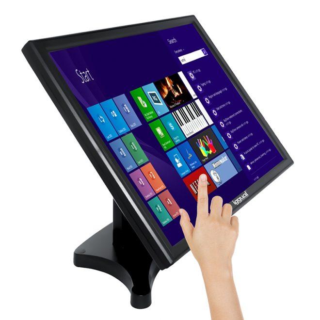 """iggual MTL19B monitor LCD Táctil 19"""" SXGA USB"""