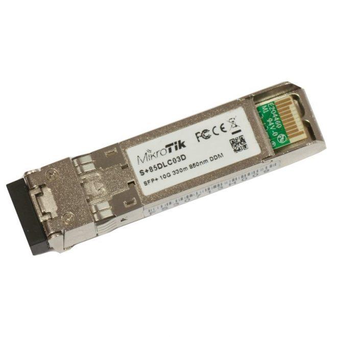 MikroTik S+85DLC03D Modulo SFP+ Multi Modo 300m