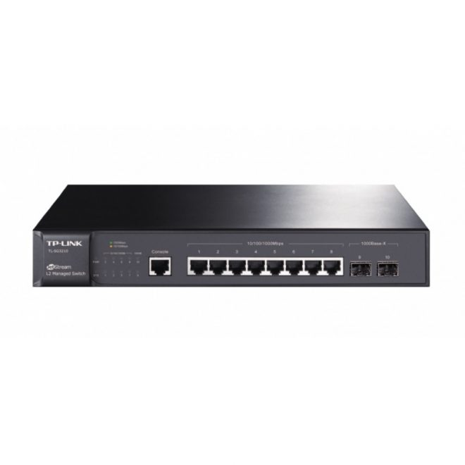 TP-LINK T2500G-10TS Switch L2 8xGB 2xSFP