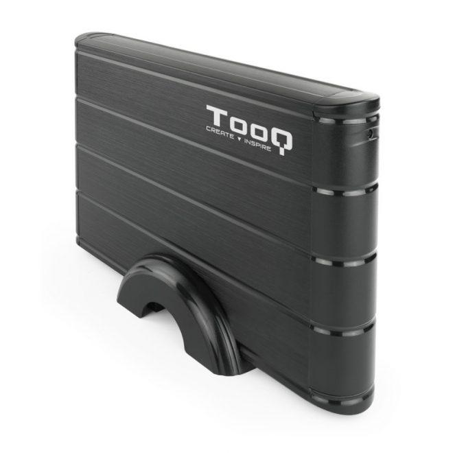 """TooQ TQE-3530B caja HDD 3.5"""" SATA3 USB 3.0 Negra"""