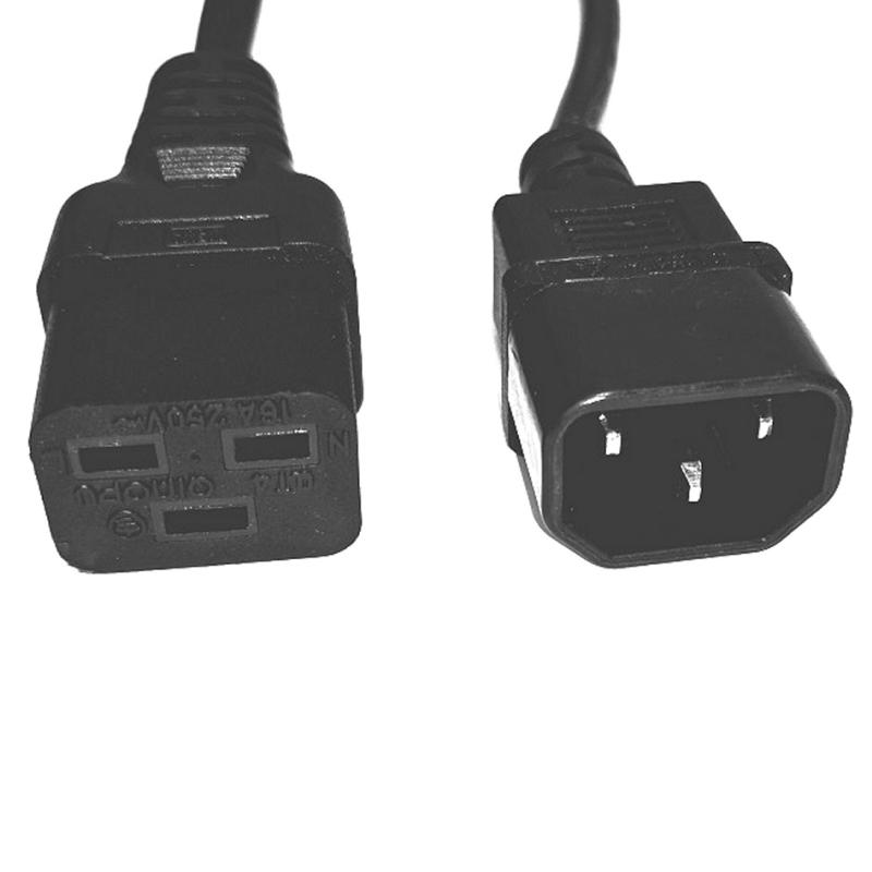 Salicru Cable salida IEC C14/C19 1