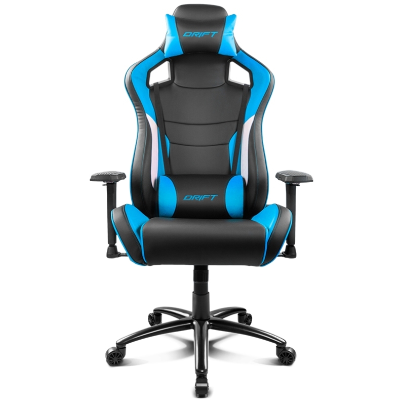 Drift Silla Gaming DR400 Black/ Blue