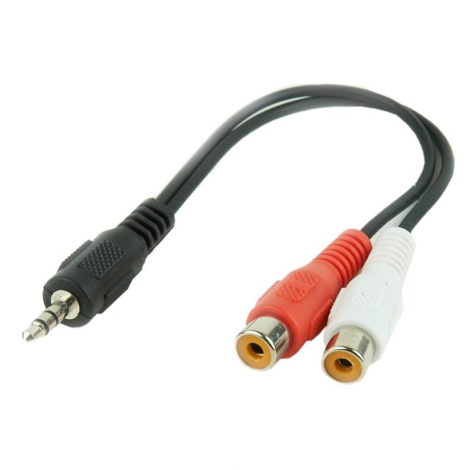 Gembird Cable Audio Estéreo 3.5mm 2 x RCA(H) 20 cm
