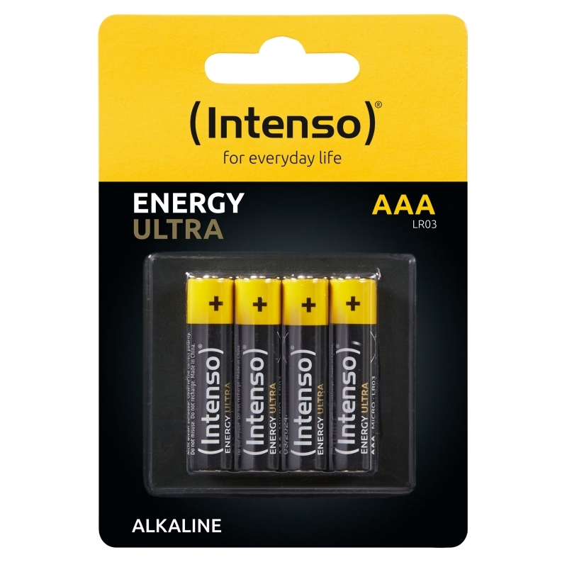 Intenso Energy Ultra Alcalina AAALR03 Pack-4