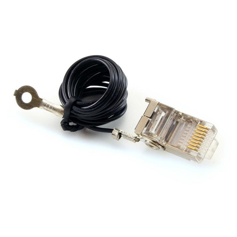 Ubiquiti TC-GND-20 Conector RJ45 5e + Tierra 20Uds