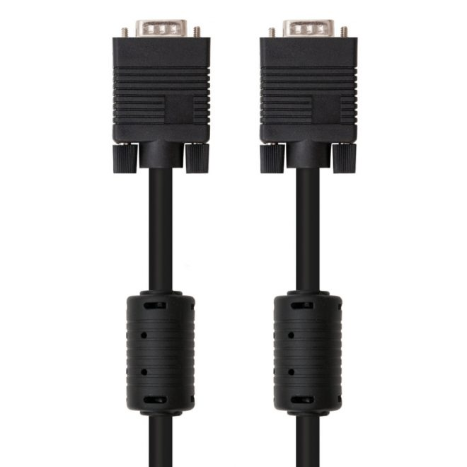 Cable Conmutador Vga 10 metros Negro