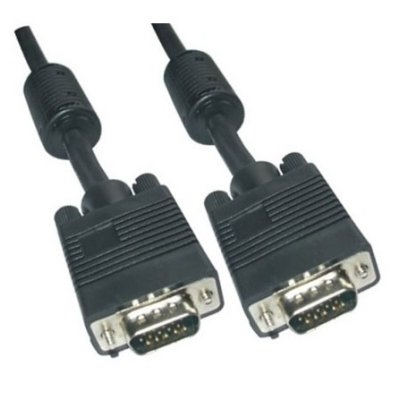 Cable Conmutador Vga 3 metros Negro