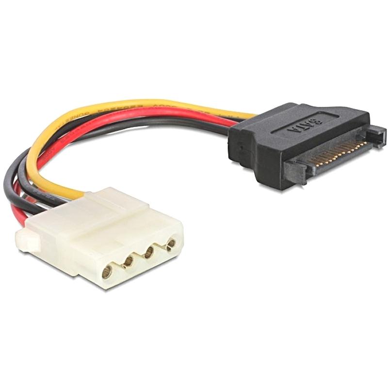 Gembird Cable Alim. SATA(M) a Molex(H) 0.15Mts