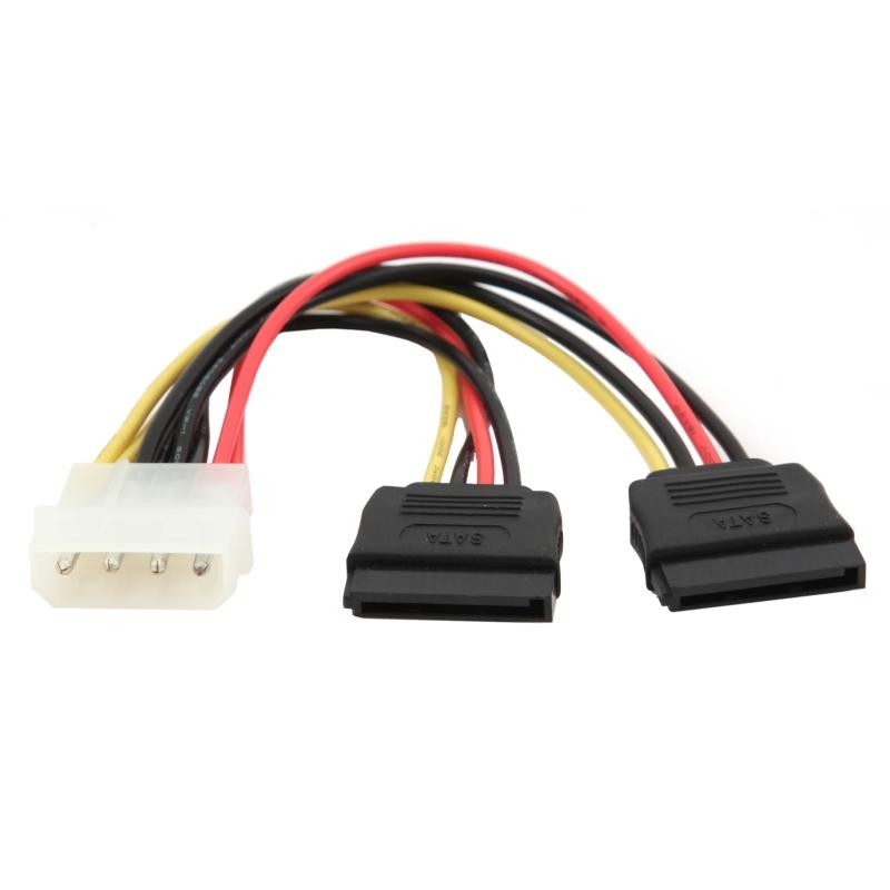 Gembird Cable SATA ALIMENTACION XHD2 15 CM
