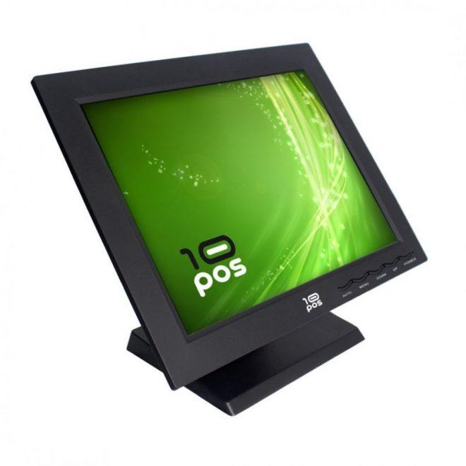 "10POS TS-15 Monitor Táctil 15"" Resistitiva USB"