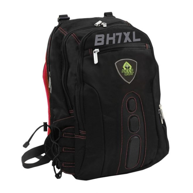 """Keep Out  BK7RXL  Mochila 17"""" Gaming Red"""