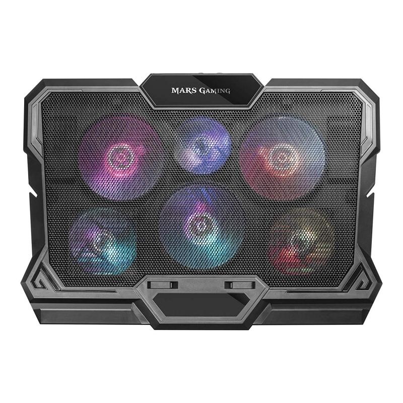 Mars Gaming MNBC4 Sop. y Ref. para portátil RGB