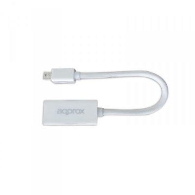 approx APPC12V2 Adaptador Mini Display Port a Hdmi