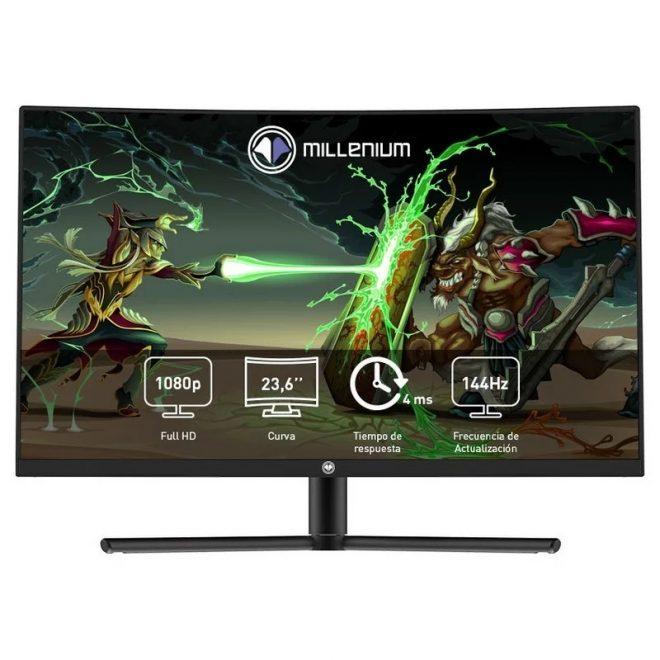 """Millenium MD24PRO Monitor 23.8"""" 144H HDMI DP AA cu"""