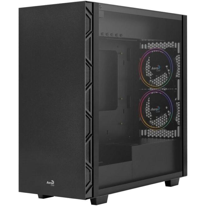 Aerocool FLOSATUNFRGB 90º mb 5x frgb 120mm fans