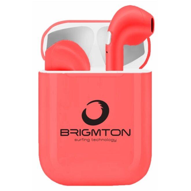 Brigmton Auricular+Mic BML-18-R Bluet+Base Carga R